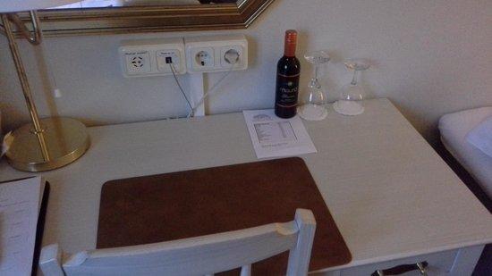 Hotel Dannegarden: Scrivania