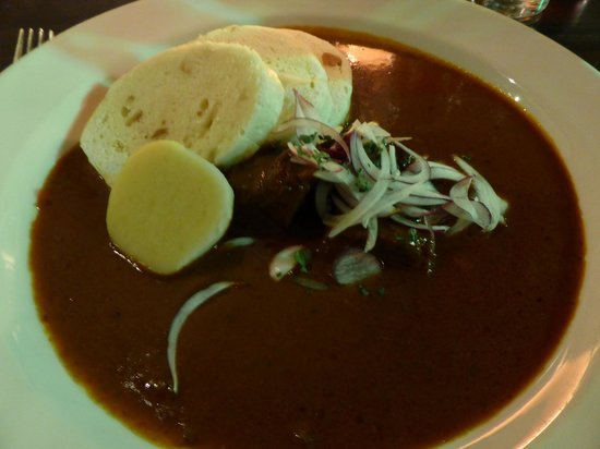 Restaurant White Horse: goulash