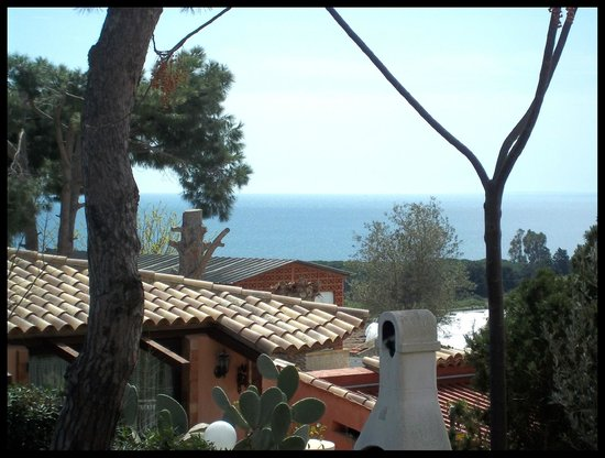 Villa Smeralda: Veduta della veranda
