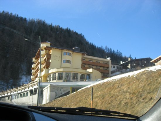 Hotel Alphof Soelden : excellent hotel