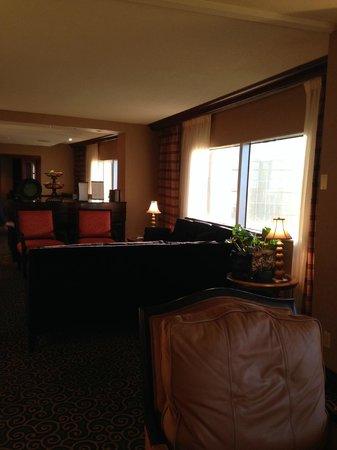 Hilton Dallas Lincoln Centre: Executive lounge