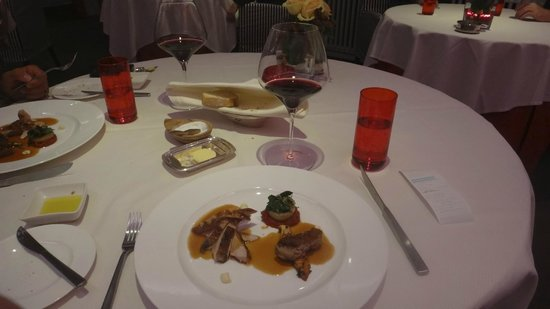 Johann Lafers Stromburg: Dinner course