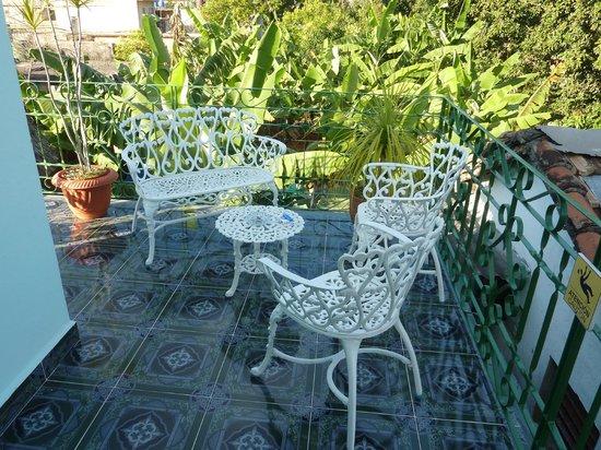 Casa Hostal Idael & Dania: Balkon beim Zimmer