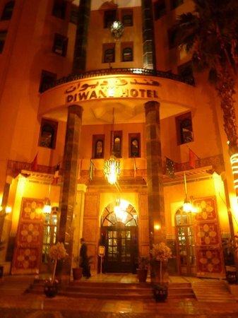 Diwane Hotel: Entance