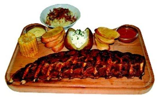 Restaurant Wiedenplatzerkeller : spare ribs