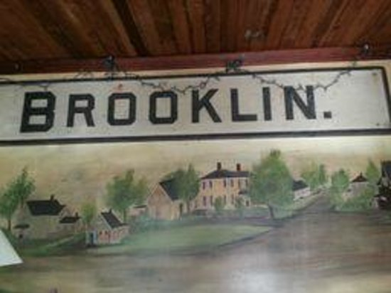 Brooklin Inn: a local painting