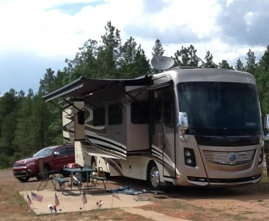 Happy Jack Lodge & RV Park: our campsite at Happy Jack