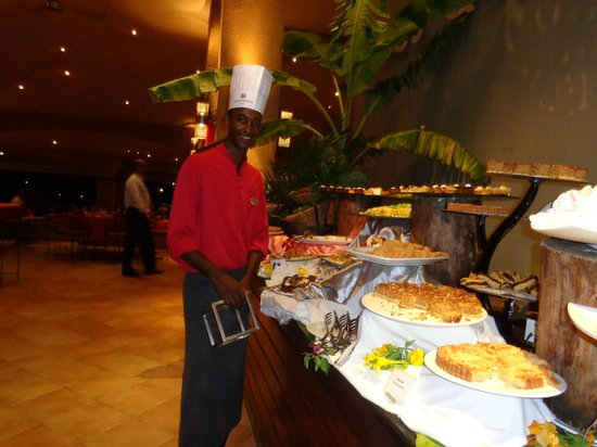Mauricia Beachcomber Resort & Spa: un des supers cuisiniers.