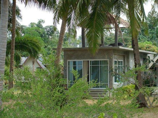 Ao Kao White Sand Beach Resort: bungalow sunset VIP