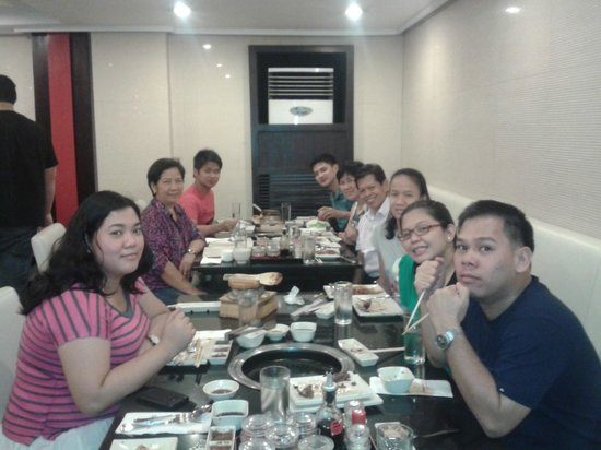 Sambo Kojin : Dinner with the family
