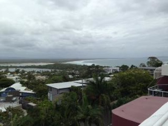 Bali Hai Apartments Noosa: view from Penthouse