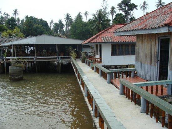Koh Mak Seafood: le restaurant sur le ponton
