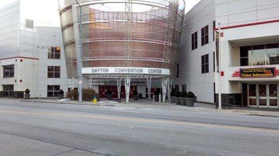 Crowne Plaza Dayton: Convention Center (accross street)