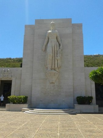 National Memorial Cemetery of the Pacific: Cemetery