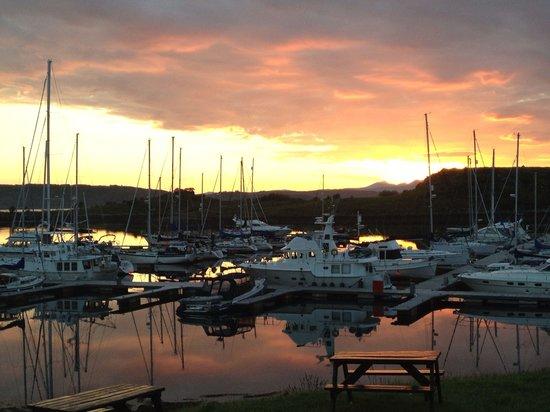 Stunning evening in Craobh Haven