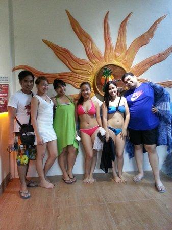 the Club Ten Beach Resort Boracay: Reception Area of Club Ten