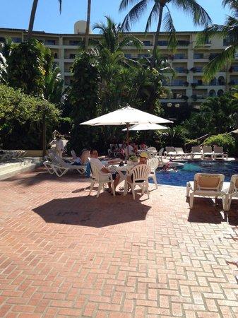 Velas Vallarta: Notre spot près de la piscine des enfants