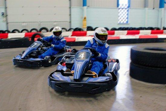 Scarborough Indoor Karting Ltd: go karts