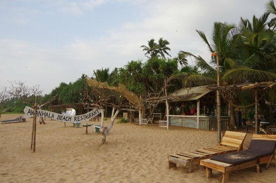 Awanhala Beach Restaurant: Пляж