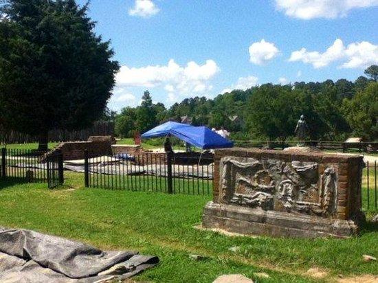 Historic Jamestowne: Archaelogical dig