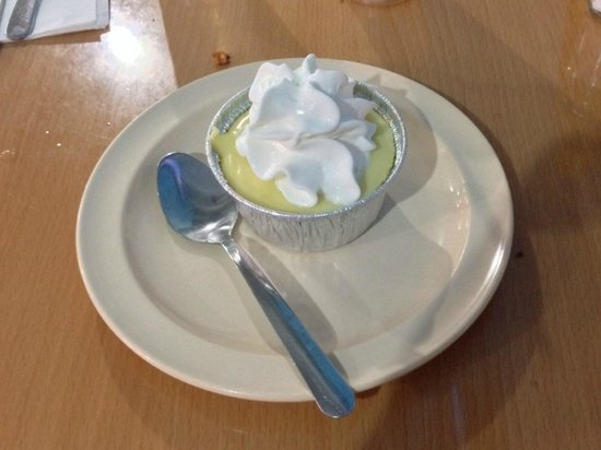 La Camaronera Fish Market: Key Lime Pie