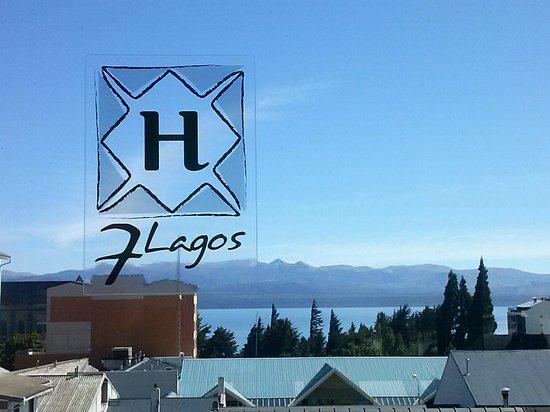 Hotel 7 Lagos : Vista desde el salón del desayuno
