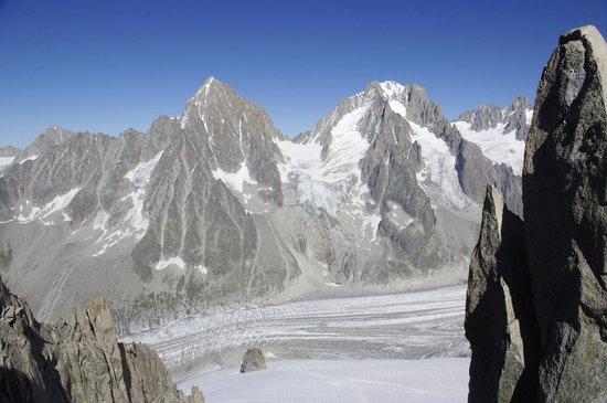 Les Grands Montets: some peaks