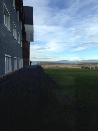 Alto Calafate Hotel Patagonico: view from lobby
