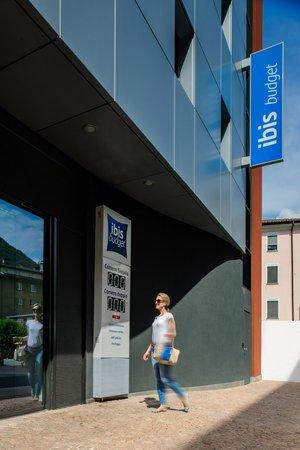 Ibis budget Lugano Paradiso: Entrée Hôtel
