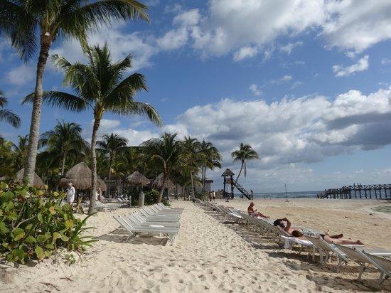 Mayan Palace Riviera Maya : spiaggia