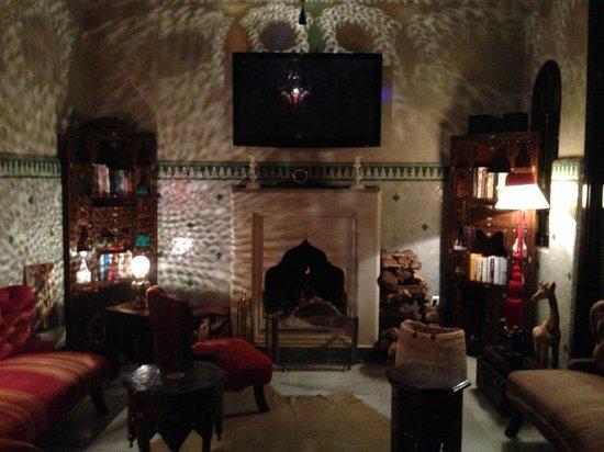 Riad Dar Anika lounge