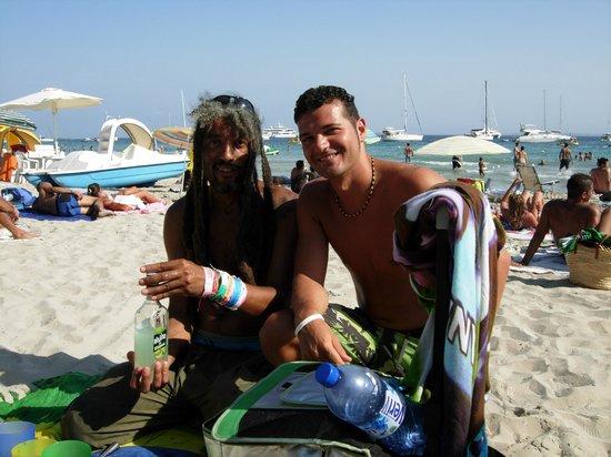 Playa de Ses Salines: Zio Bob