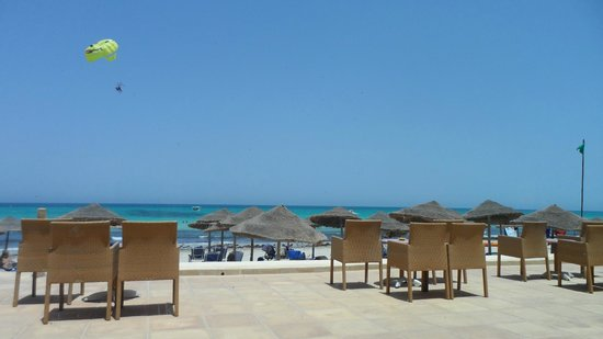 SENTIDO Djerba Beach : view from restaurant