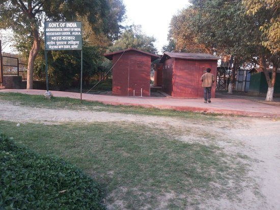 Mehtab Bagh : Not to miss clean washrooms