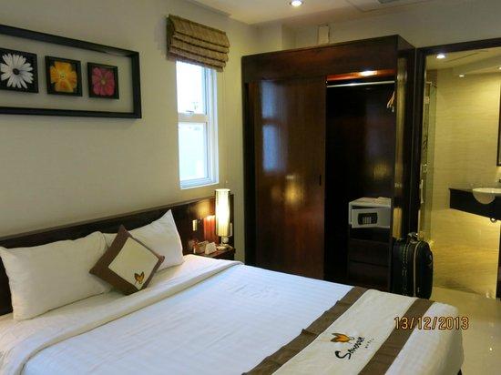 Sanouva Saigon Hotel : The room