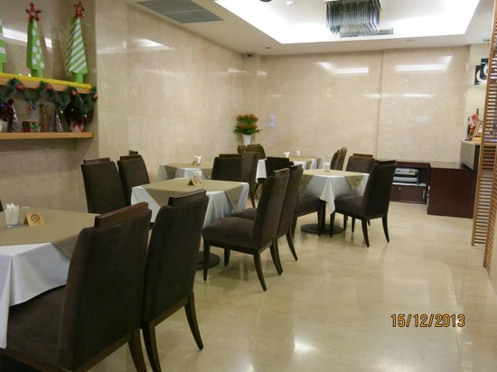 Sanouva Saigon Hotel : Dining area - view from the reception