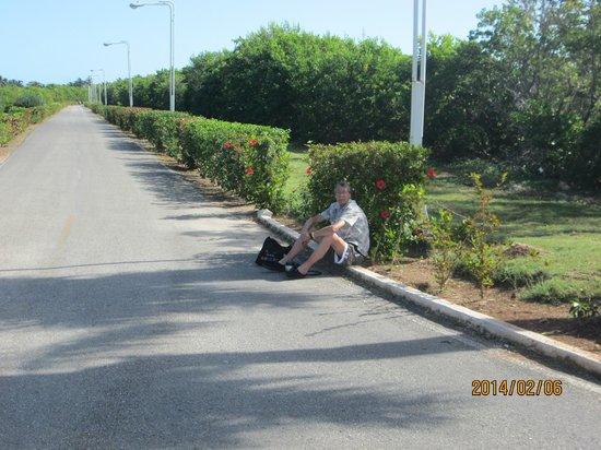 Gran Caribe Club Villa Cojimar : La pause au bout de l'hotel