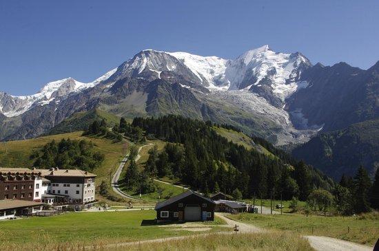 Glacier des Bossons : Chair lift station