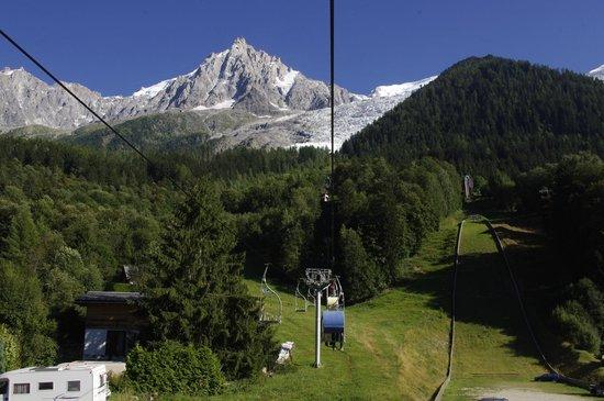 Glacier des Bossons : Moving...........