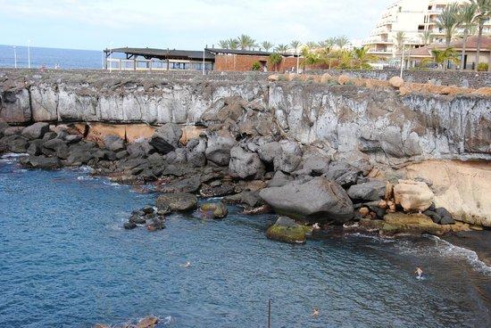 Roca Nivaria GH - Adrian Hoteles: petite plage dans une crique