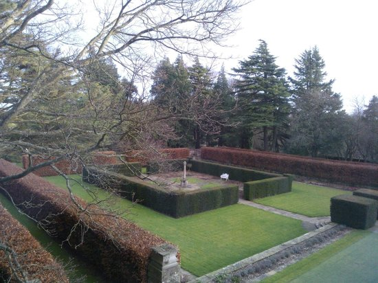 Doxford Hall Hotel: View from our room.