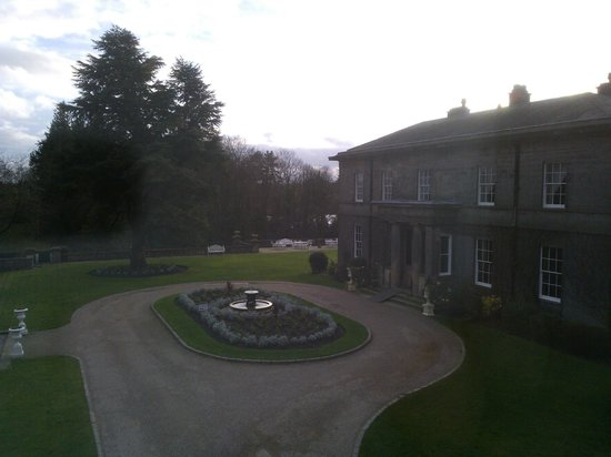 Doxford Hall Hotel: View from room 14.