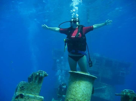 Pirate Divers: I'm the king of the world!