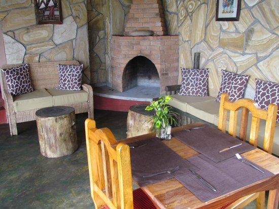 Ambureni Coffee Lodge: Ambureni salle à manger