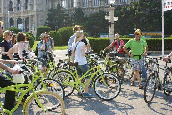 Vienna Explorer Tours & Day Trips: Bike Tour on cruiser bikes