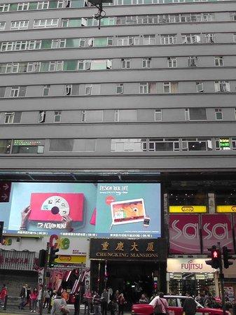 Ashoka Guest House: ChungKing Mansions