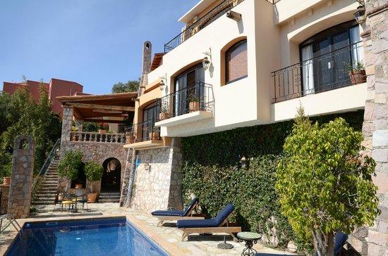 Casa Estrella de la Valenciana : balcon Guadalupe