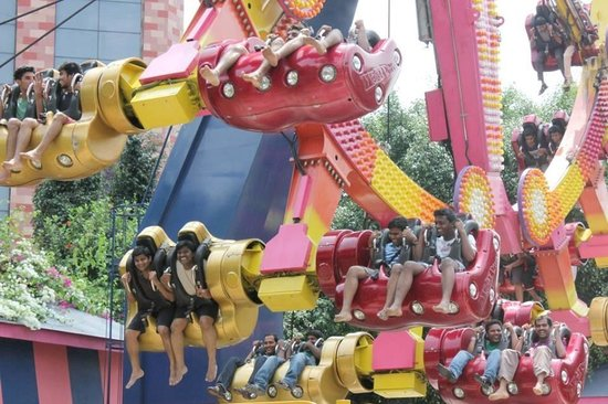 Wonderla Amusement Park : This was fun