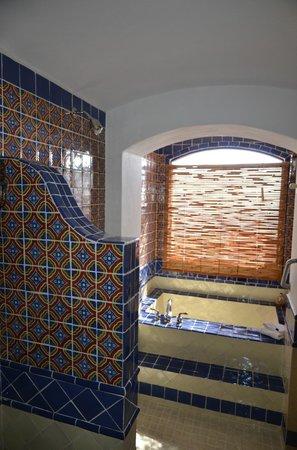Casa Estrella de la Valenciana: Salle de bain Guadalupe