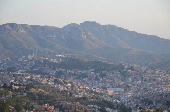 Casa Estrella de la Valenciana: Magnifique vue